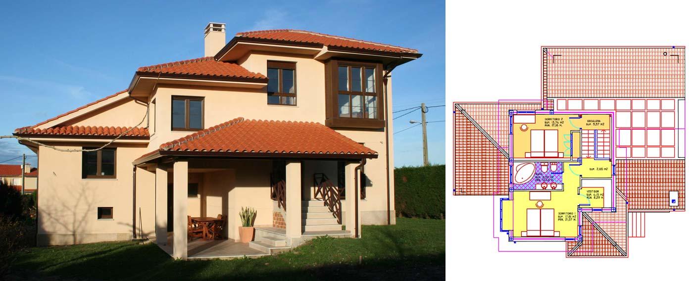Arquitecto en cudillero asturias novellana planta1 - Arquitectos asturias ...