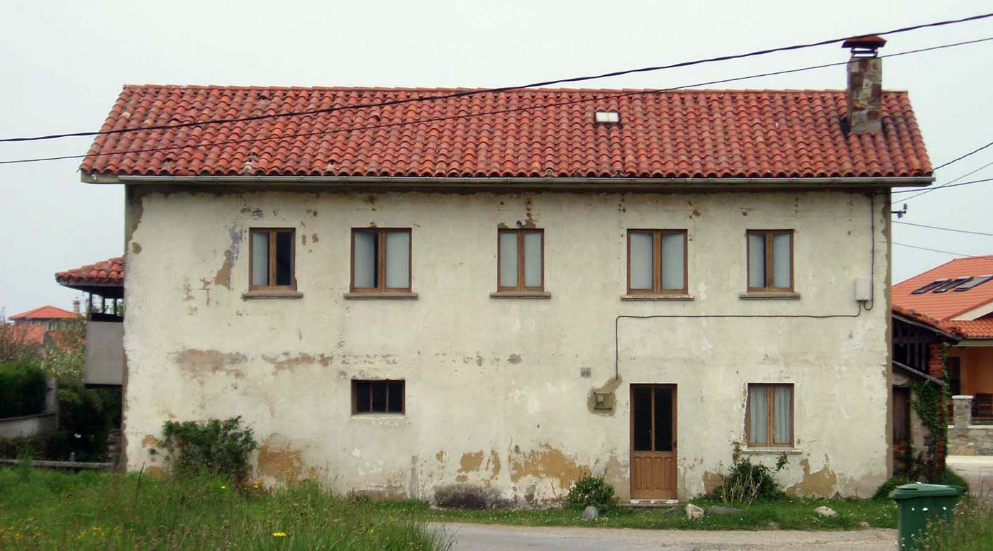 Arquitecto en cudillero asturias ovinana casa alzado - Arquitectos asturias ...