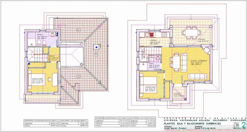 Arquitecto en cudillero asturias vivienda unifamiliar valdredo 2 cudillero arquitecto en - Casas unifamiliares planos ...