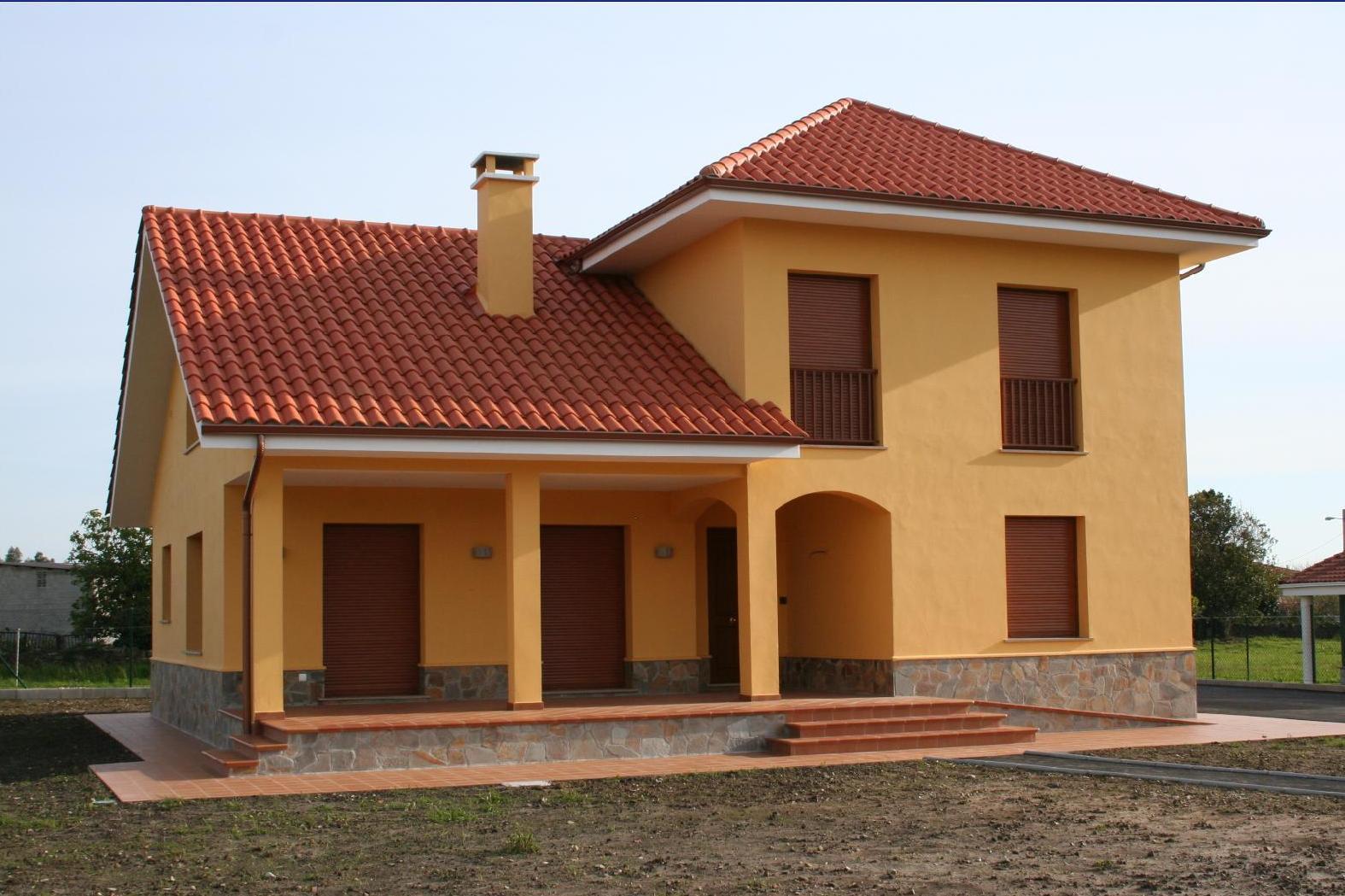 Arquitecto en cudillero asturias vivienda unifamiliar for Viviendas de una planta modernas