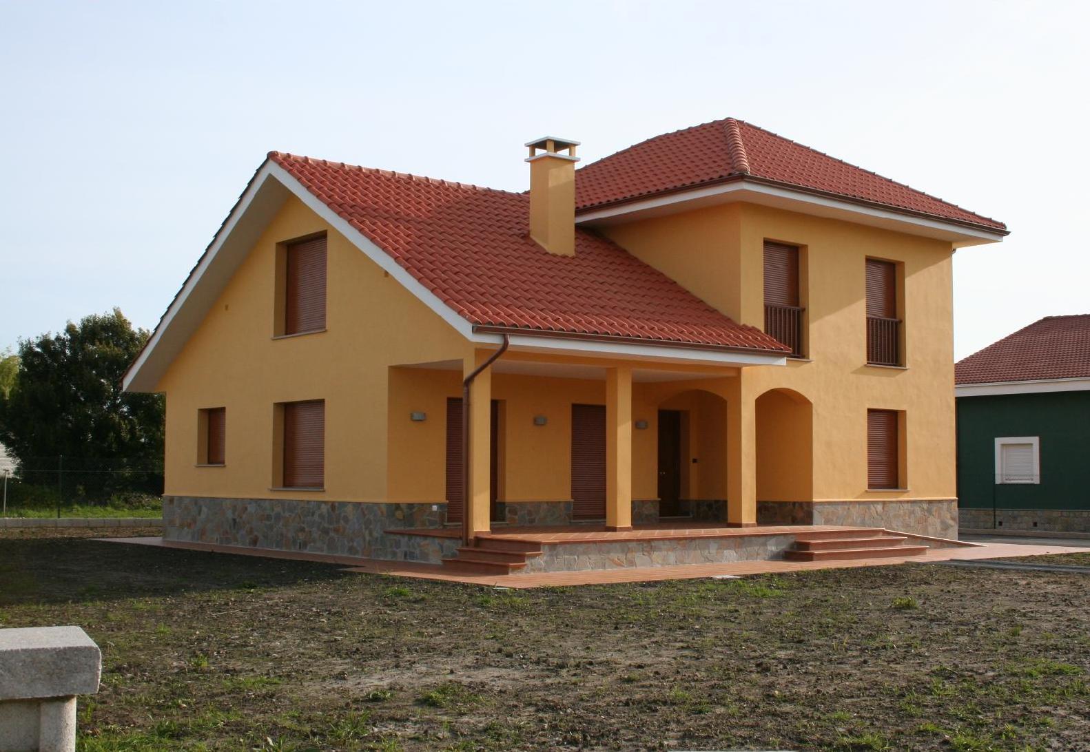 Proyectos iniciamos proyecto las casa del mundo - Fachadas viviendas unifamiliares ...