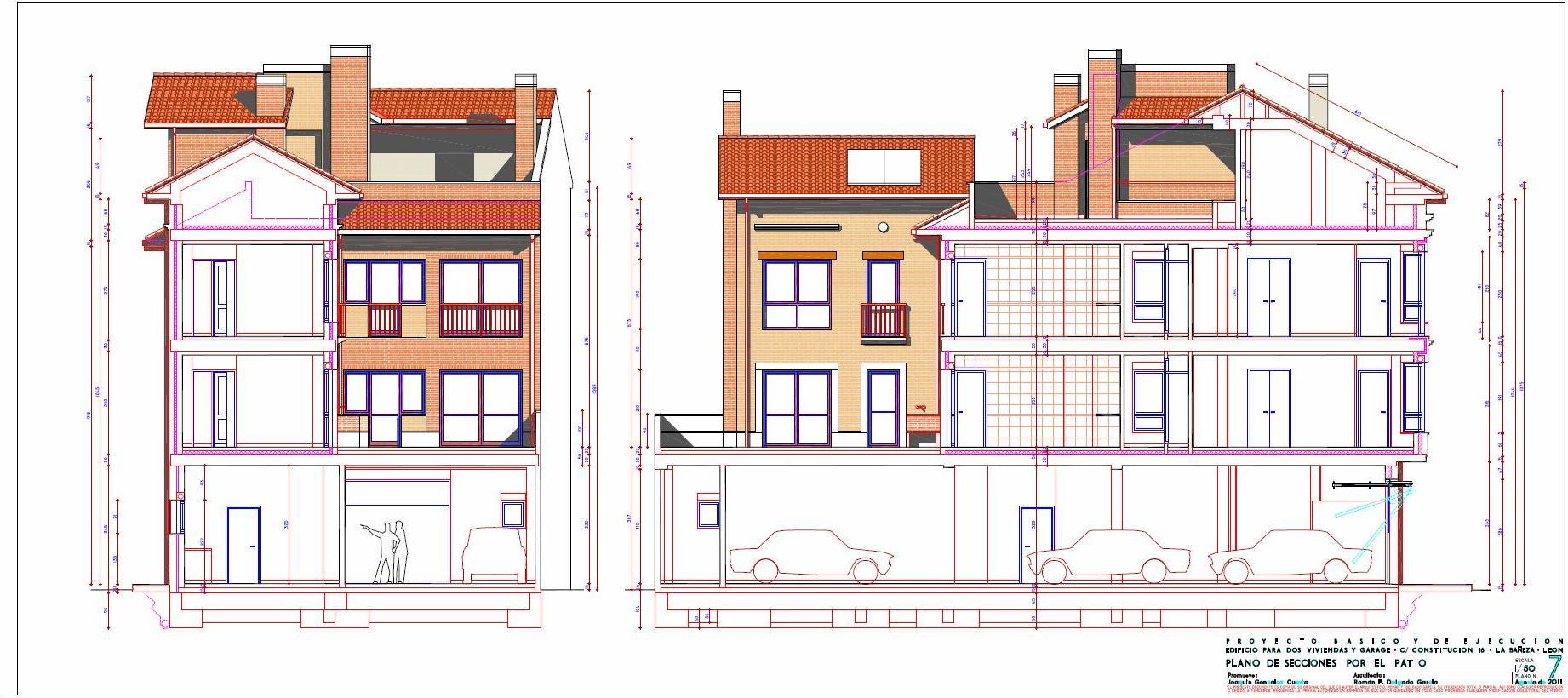 arquitecto en cudillero, asturias | viviendas calle constitucion