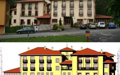 Hotel_Pepe_Soto_de_Luina_alzado